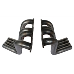 Boom Tube Small Block Chevy Zoomie Headers for Sprints, Plain