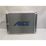 Garage Sale - AFCO Double Pass O-Ring Style Racing Radiator, 7-1/2 Inch, 2X 16AN Right Side