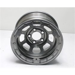 """Garage Sale - Bassett Wissota Certified 15 Inch Wheel, Beadlock, 15X8, 5on5, 3"""" Backspace"""