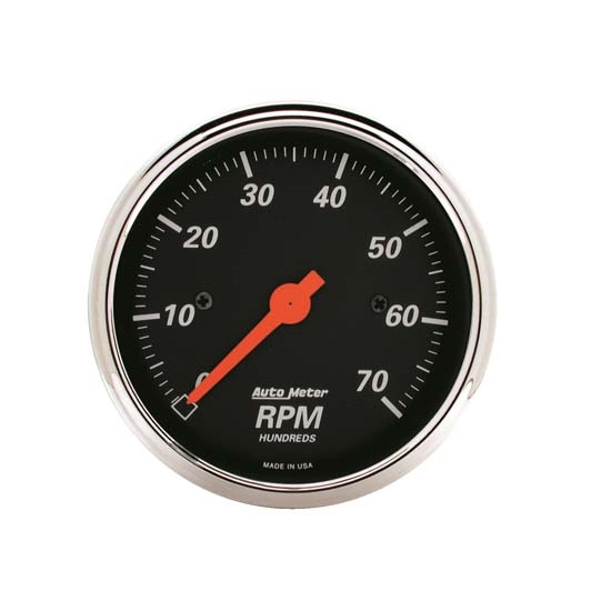 Auto Meter 1478 Designer Black Air-Core In-Dash Tachometer Gauge