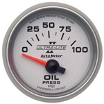 Auto Meter 4927 Ultra-Lite II Air-Core Oil Pressure Gauge, 2-1/16 Inch