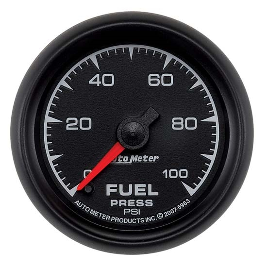 Auto Meter 5963 ES Digital Stepper Motor Fuel Pressure Gauge