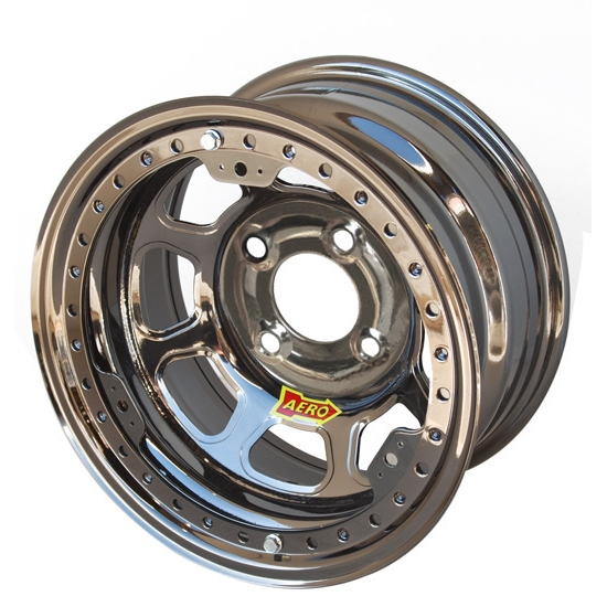 Aero 33-274520 33 Series 13x7 Wheel, Lite, 4 on 4-1/2 BP, 2 Inch BS