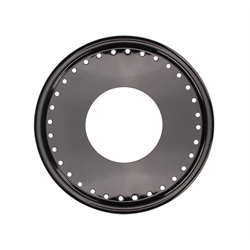 AERO 15 Inch Black Mudbuster Replacement Beadlock Ring/Mudcover Combo