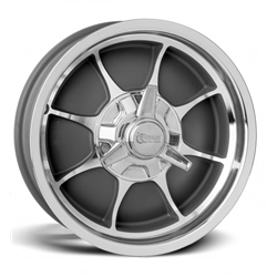 Rocket Racing Wheels Fire Wheel, 18 x 6, 5 on 5, 2.875 Inch Backspace