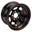 Bassett D-Hole IMCA Approved Black 15 Inch Wheel-Non Beadlock-15x8, 5 on 5