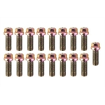 Dynatech   Header Bolts, M8 x 1.25mm, Hex Head, Pack/17