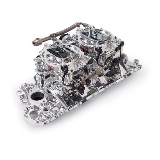 Edelbrock 20694 rpm air gap dual quad intake manifold for Rpm motors lincoln ne
