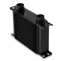 Earls 21600AERL 16 Row Oil Cooler Core, Black