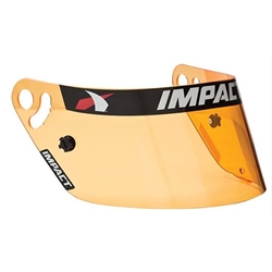 Impact 13199904 Champ Helmet Replacement Amber Shield, Fog Free