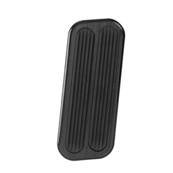 Lokar XBAG-6085 Midnight Series 73-98 Chevy Truck Throttle Pad, Rubber