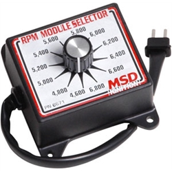 MSD 8671 RPM Module Rev Limiter Selector Switch, 4600-6800 RPM