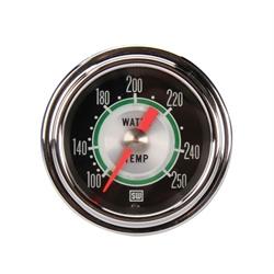 Stewart Warner 361AT72 Green Line Water Temperature Gauge-2-1/16 Inch
