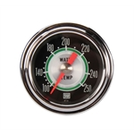Stewart Warner 361AT72 Green Line Water Temperature Gauge-2-1/16 Inch