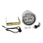 Stewart Warner 82661 Wings Electric Speedometer, White