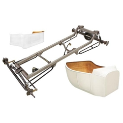 Basic 1923 T-Bucket Frame Kit w/ Standard Body and Bed, Unchanneled Floor