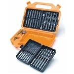 Titan Tools 16048 48-Piece Quick Disconnect Drill Bit Set w/ Case