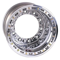 Weld Racing Wide 5 HS Wheel-XL with Bead-loc, 15 x 14 In, 4 In BS