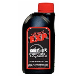 Wilwood 290-6210 EXP 600 Plus Racing Brake Fluid, Case of 20 Bottles