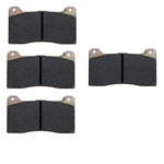 Wilwood 15E-7266K NDL/Dynalite Bridge Bolt Brake Pads, Dynapro Poly-E