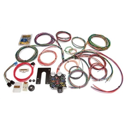 Painless Wiring 10105 22 Circuit Jeep CJ Wiring Harness, 74 and Earlier