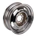 Speedway GM Style Rally Wheel, 15 Inch, 4.5 and 4.75 Inch Bolt Pattern