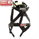Simpson Racing Hybrid Pro Rage Head/Neck Restraint, Sliding Tether Version