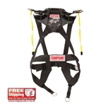 Simpson Racing Hybrid Sport Head/Neck Restraint, Sliding Tether Version