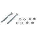 Pedal Car Parts, Flat Face Pedal Bolts, Washers and Nuts