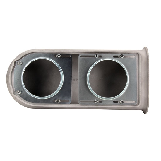 Big Block Chevy Street Tunnel Ram Kit, Raw Scoop