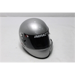 Garage Sale - Impact Racing 1320 Side Air Helmet, Silver, Size Large