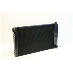 Dewitts 1239003M 1968-72 Chevelle SB/BB Direct Fit Radiator, Blk, Man