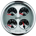 Auto Meter 1225 American Muscle Air-Core Quad Gauge