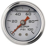 Auto Meter 2180 Auto Gage Mechanical Pressure Gauge, 1-1/2 Inch, 0-100