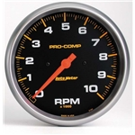 Auto Meter 5160 Pro-Comp Air-Core In-Dash Tachometer, 10k RPM, 5 Inch