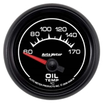 Auto Meter 5948-M ES Air-Core Oil Temperature Gauge, 2-1/16 Inch
