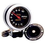Auto Meter 6601 Pro-Comp Air-Core Pedestal Tachometer, 10k RPM, 3-3/4