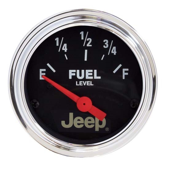 Auto Meter 880243 Jeep Air-Core Fuel Level Gauge, 2-1/16 Inch