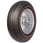 Coker Tire 57986 Classic 3/8 Inch Redline Radial Tire, 185R-15
