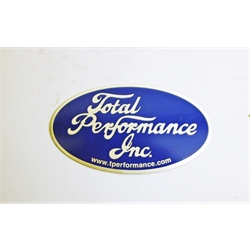 Garage Sale - Total Performance Metal Oval
