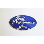 Garage Sale - Total Performance Metal Oval