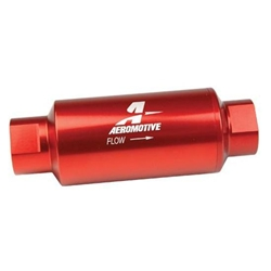Aeromotive 12335 40 Micron Stainless Steel Fuel Filter, ORB-10 Ports