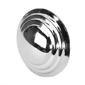 Pedal Car Parts, Murray Smooth Chrome Hubcap, 4 Inch Diameter