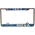 63 Nova License Plate Frame, Pr