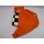Garage Sale - Finishline Racing Two Layer Racing Jacket, Orange, XXL