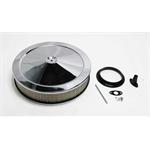 Garage Sale - Chrome Deep Dish Performance Air Cleaner, 14 x 3 Inch, 4 Barrel Carb.