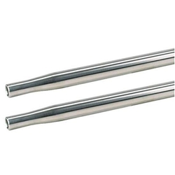 AFCO 36223-1 Swedged Aluminum Tube, 1 Inch O.D.(5/8) Inch, 23-1/2 Inch