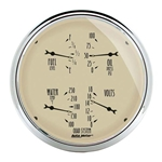 Auto Meter 1819 Antique Beige Air-Core Quad Gauge