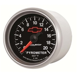 Auto Meter 3645-00406 GM Black Digital Stepper Motor Pyrometer Gauge