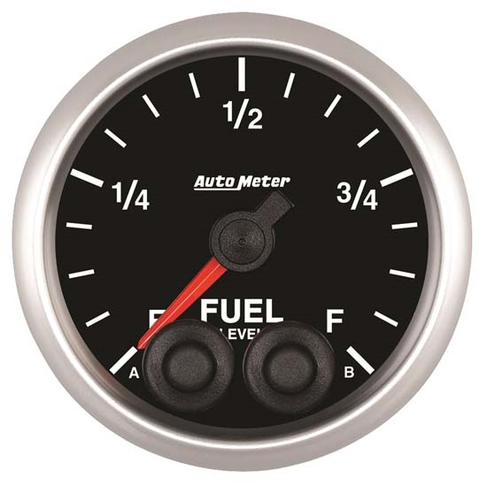 Auto Meter 5609 Elite Digital Stepper Motor Fuel Level Gauge